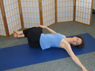 Spinal twist right